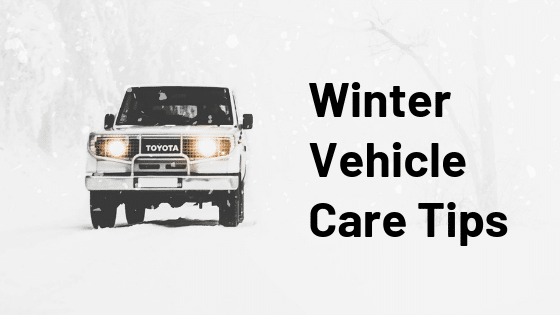Winter Vehicle Care Tips