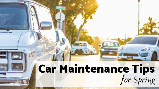Car Maintenance Tips for Spring